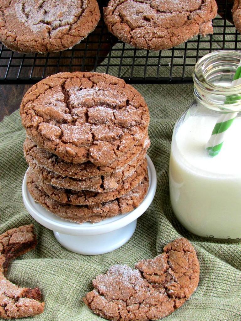 Chocolate Chew Cookies