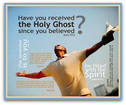 Image result for receiving the holy spirit