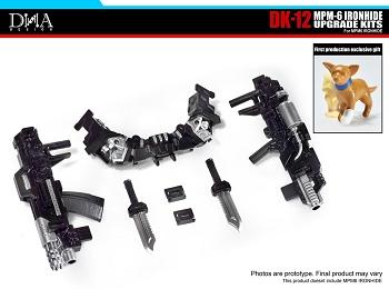 DNA Design DK-12 Upgrade Kit for MPM-6 Ironhide