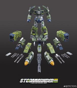 TFC Toys ST-01A SUPREME TACTICAL COMMANDER (JUNGLE CAMO)