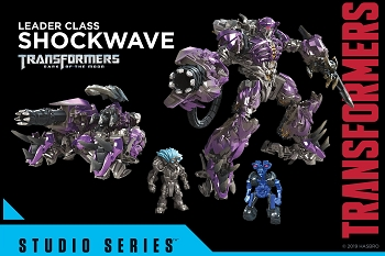 Transformers STUDIO SERIES LEADER SS-56 SHOCKWAVE