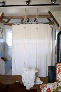 Indoor Swing in Attic Apartment