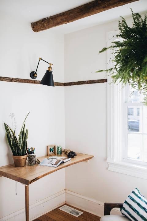 Live Edge Desk in Office