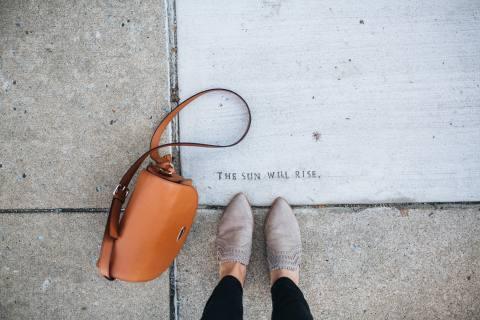 Side Walk Writing
