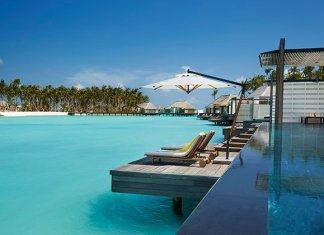 Poolside at Cheval Blanc, The Maldives
