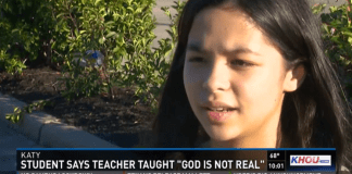 It Is Not a Movie, It's Really Happening: School Teacher Threatens ToFail Student For Not Denying Her Faith in God
