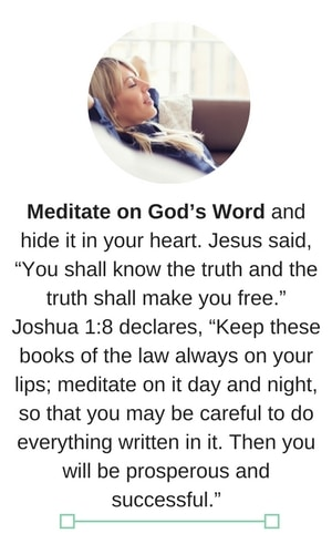 a date with god meditate on his word