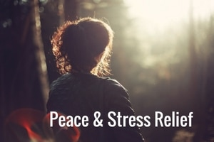 Christian meditation for peace and stress relief