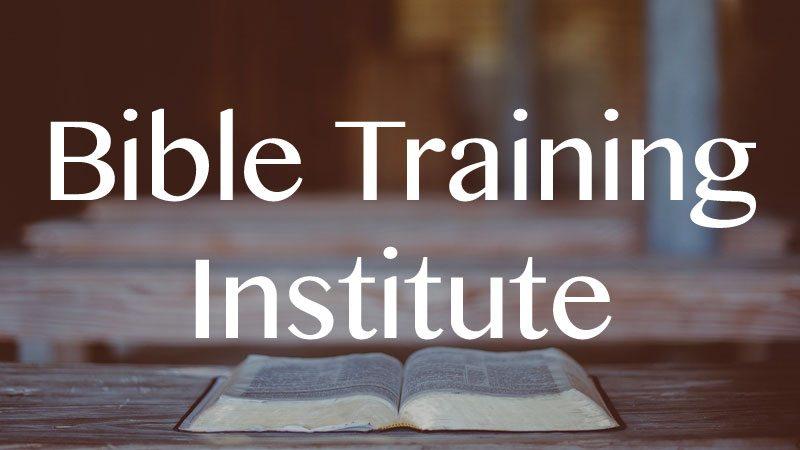 Bible Training Institute Videos