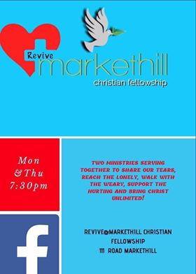 Markethill Christian Fellowship, Armagh restarts on Monday 3rd August 2020