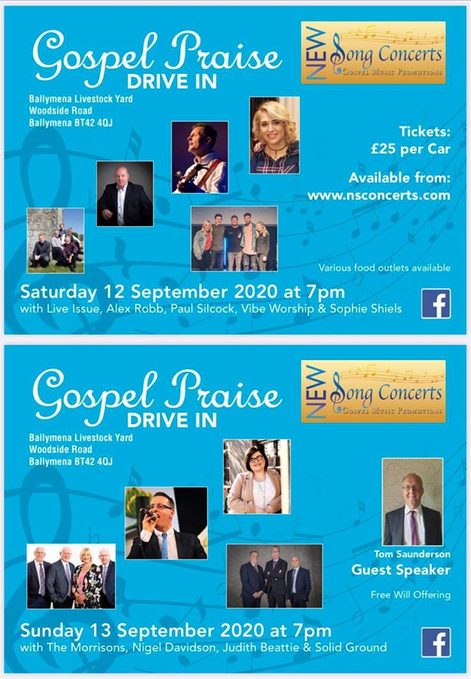 New Song Concerts Gospel Praise Drive In Weekend