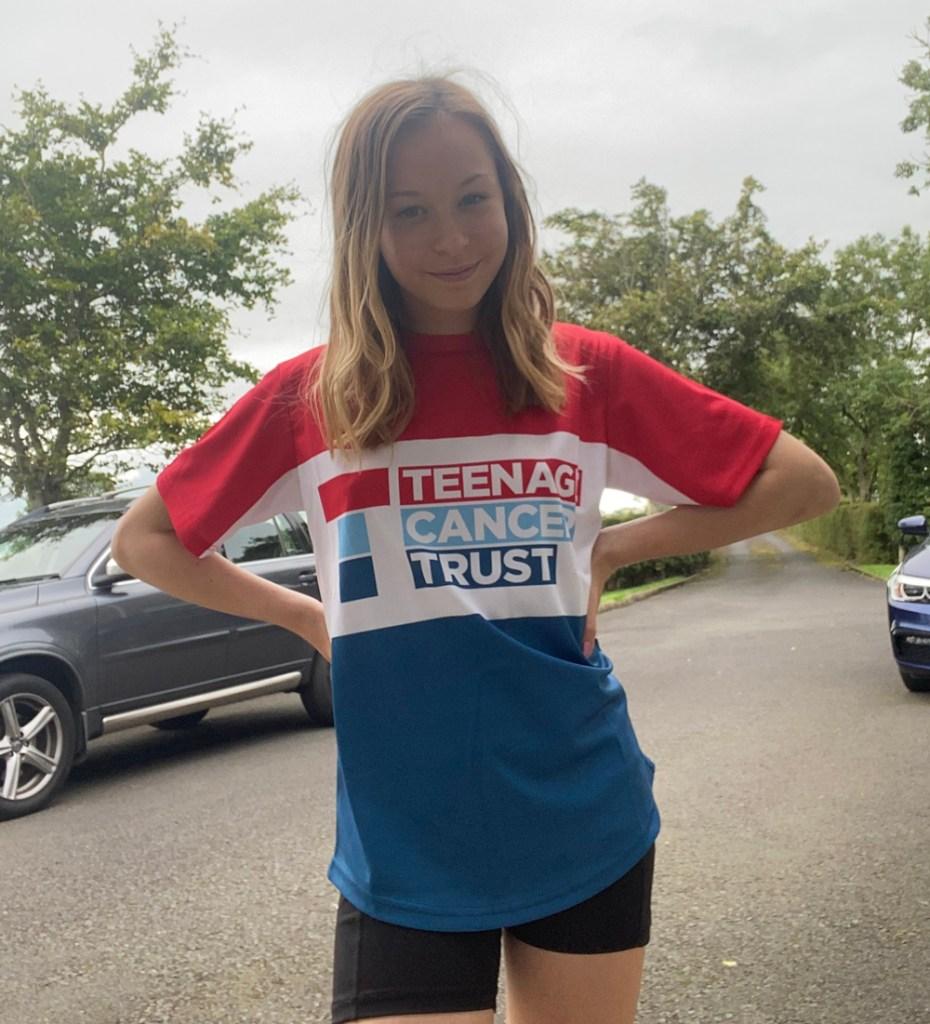 Lauren's 100 miles for Teenage Cancer Trust