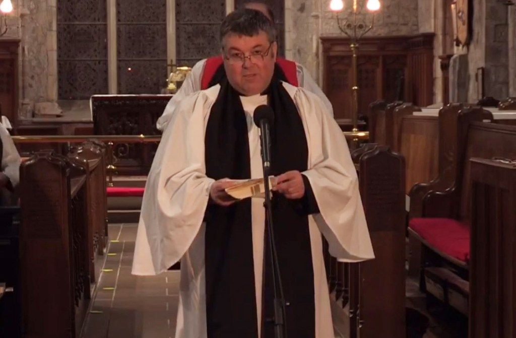 New Rector at St Nicholas' Carrickfergus