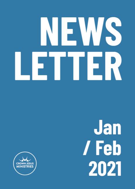 Crown Jesus Ministries publish bi-monthly newsletter online