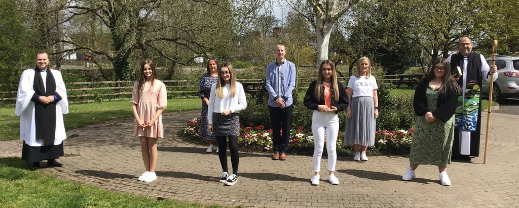 15 people 'confirmed' at St Patrick's Parish Church Broughshane