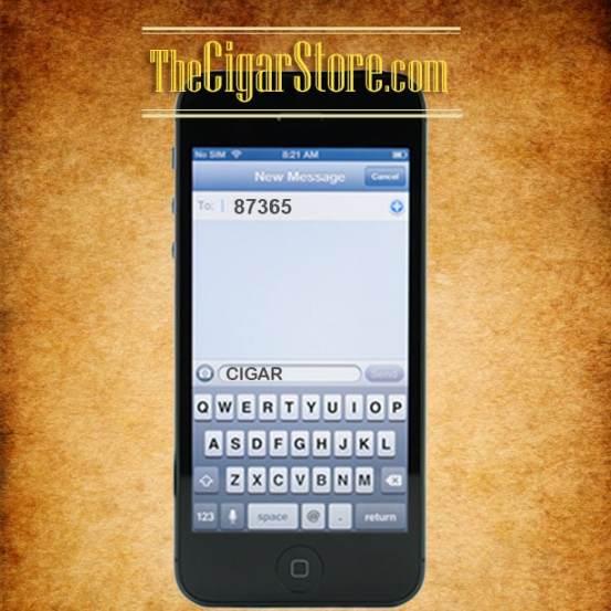 TheCigarStore.com Mobile Text Club