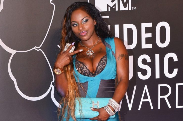 from Markus rapper foxy brown in see through