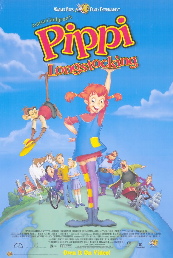 Pippi Longstocking (1997) | Animated and Underrated
