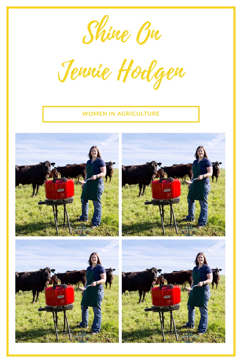 Shine ON~Women In Agriculture~Jennie Hodgen