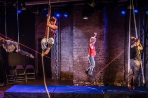 'Me, Mother', by MES at CircusFest IMAGE: David Levene