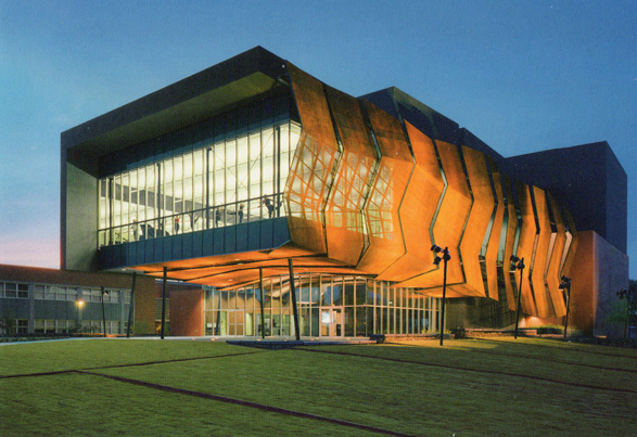 Stevie Eller Dance Theater at the University of Arizona in Tucson by Gould Evans, 2003
