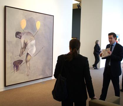 "Alex Rotter describing ""Untitled"" self-portrait by Martin Kippenberger"