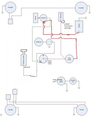 1948 jeepster wiring diagram  Diagrams online