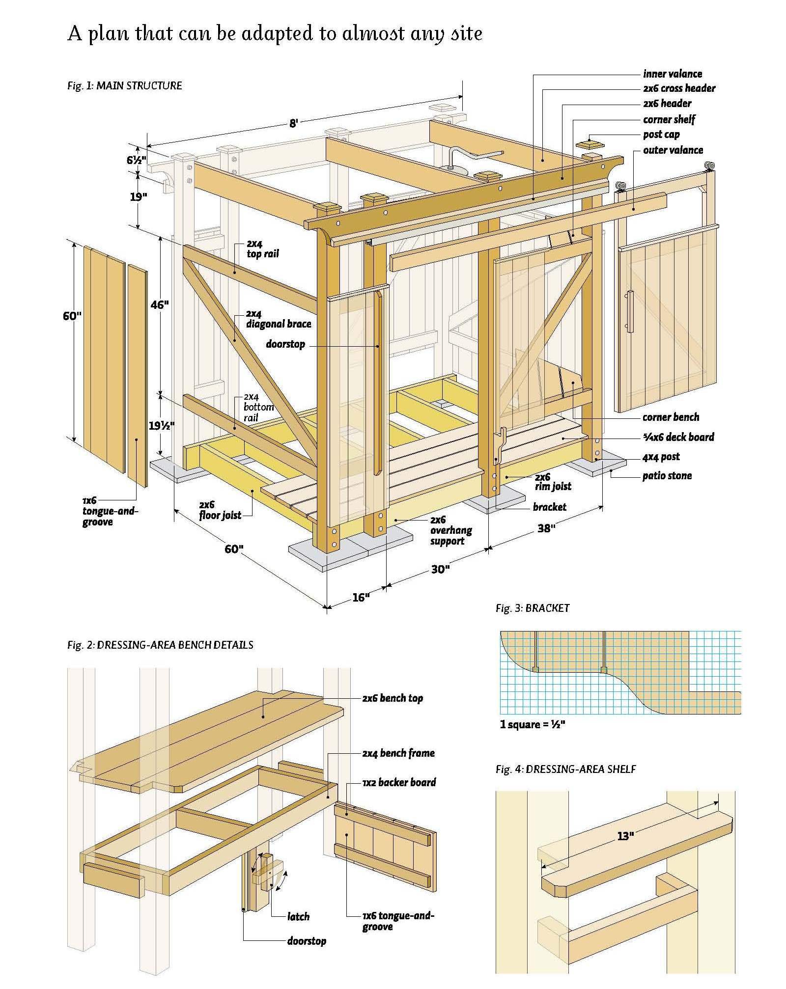 garden woodworking ideas