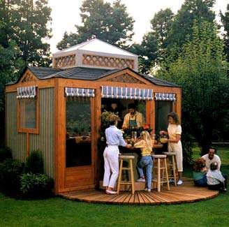 Free Outdoor Kitchen Pavilion Wood Plans Free Step By