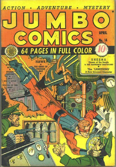 Jumbo Comics Fiction House 127 Issues Vintage Golden