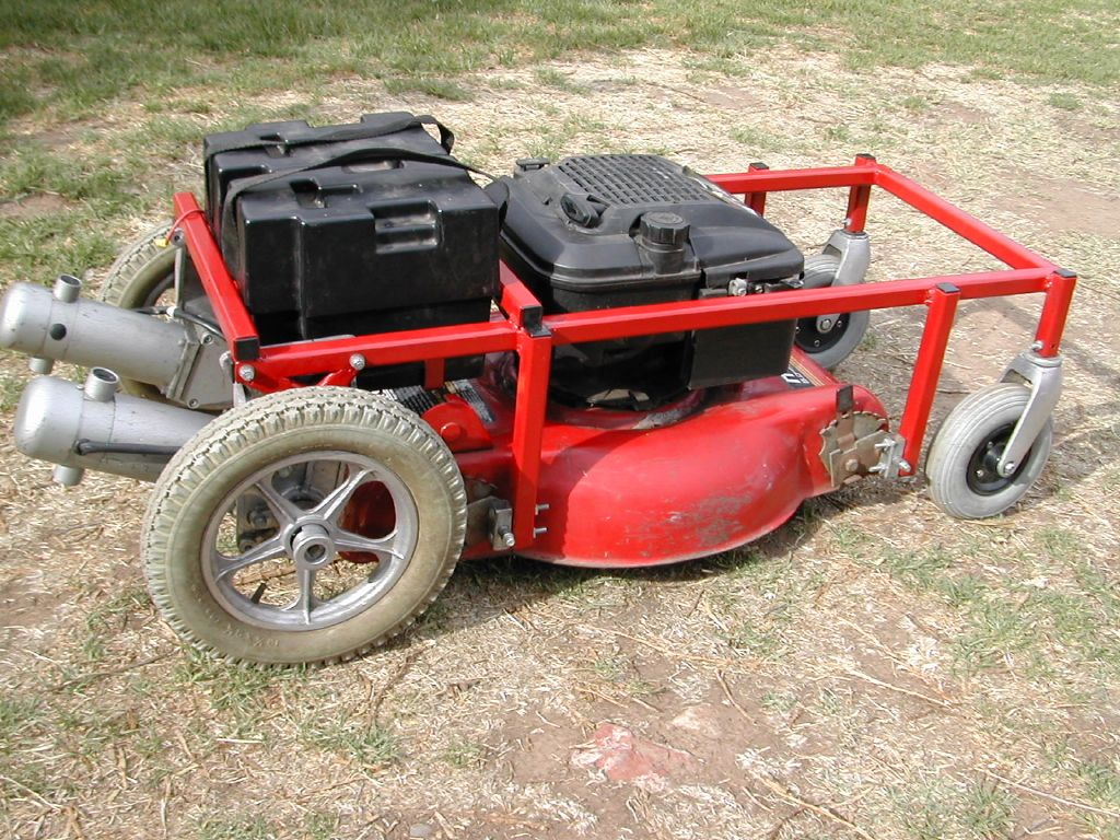 Easy Plans For Build your own radio control lawn mower