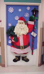 Christmas Bulletin Boards   Door Decorations Gingerbread