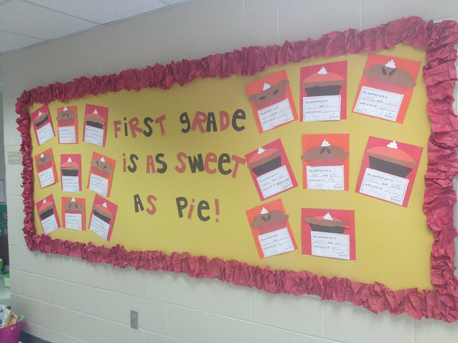 Fall Bulletin Board Ideas For 1st Grade