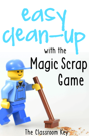 Make end-of-the-day clean up easy with this game, perfect for the elementary classroom