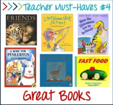 teacher must-haves, great books!