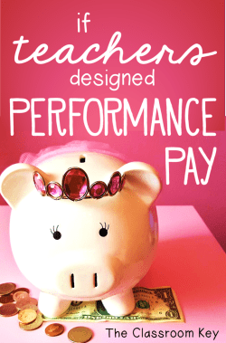 If Teachers Designed Performance Pay - What would your bonus be using this system?