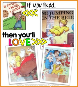 If you liked If You Give a Mouse a Cookie, then you'll love No Jumping on the Bed, picture book recommendations #childrensliterature