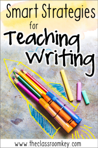 Find out how to teach writing to students without working so hard! Ideas, activities, and strategies for 1st, 2nd, and 3rd grade teachers. #teachingwriting #1stgrade #2ndgrade #3rdgrade #writing