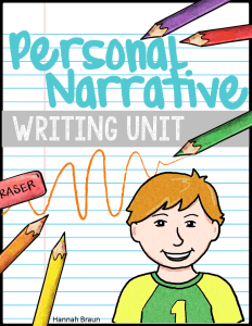 Personal Narrative Writing Unit ($) Quick-read lesson plans, graphic organizers, grammar and vocabulary integrated, writing projects, perfect for 2nd and 3rd grade students