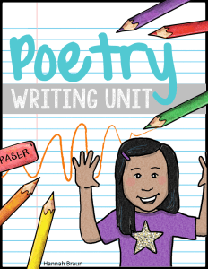 Poetry Writing Unit - The Classroom Key