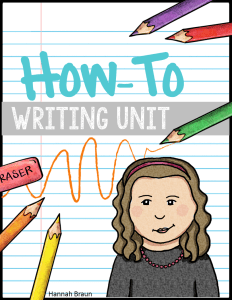 How-To Writing Unit - The Classroom Key