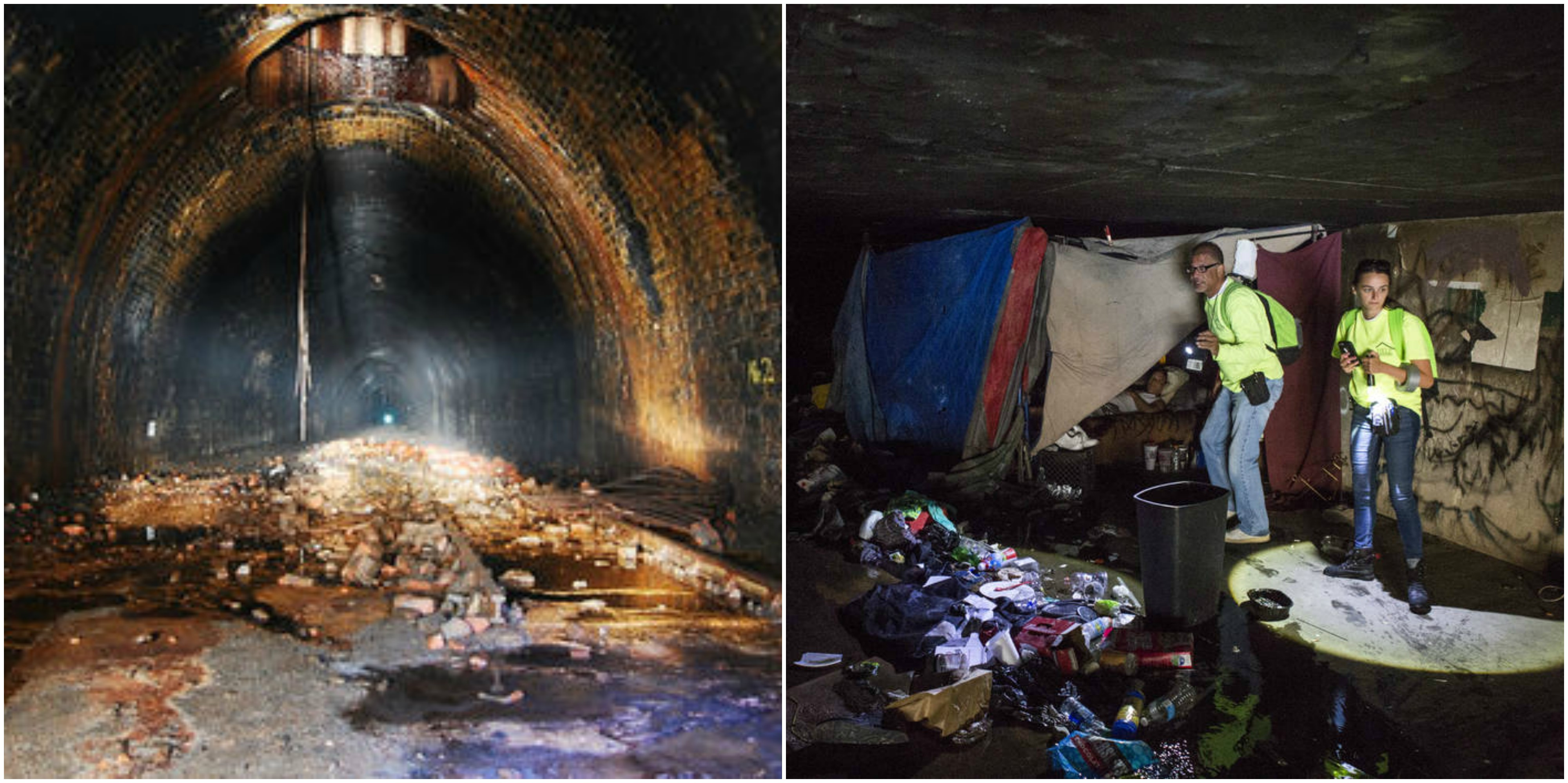 Las Vegass Homeless Are Living In Creepy Tunnels VICE