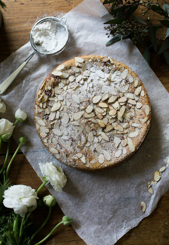 Italian Almond Ricotta Cake My Way The Clever Carrot