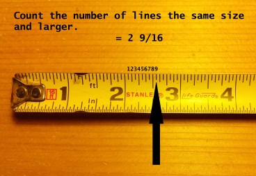 How to read a tape measure and tape measure increments