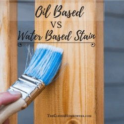 oil based vs water based stain