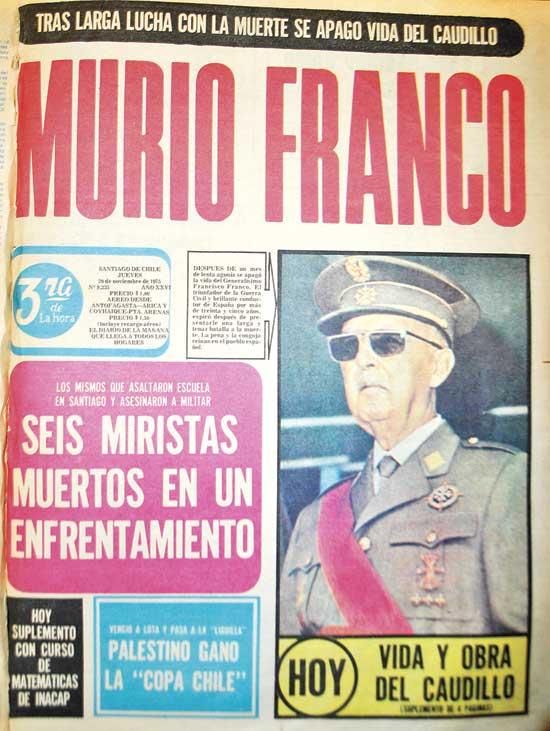 """39-años-de_portada-de-""""La-Tercera-de-la-hora"""",-del-20-de-noviembre-de-1975"""