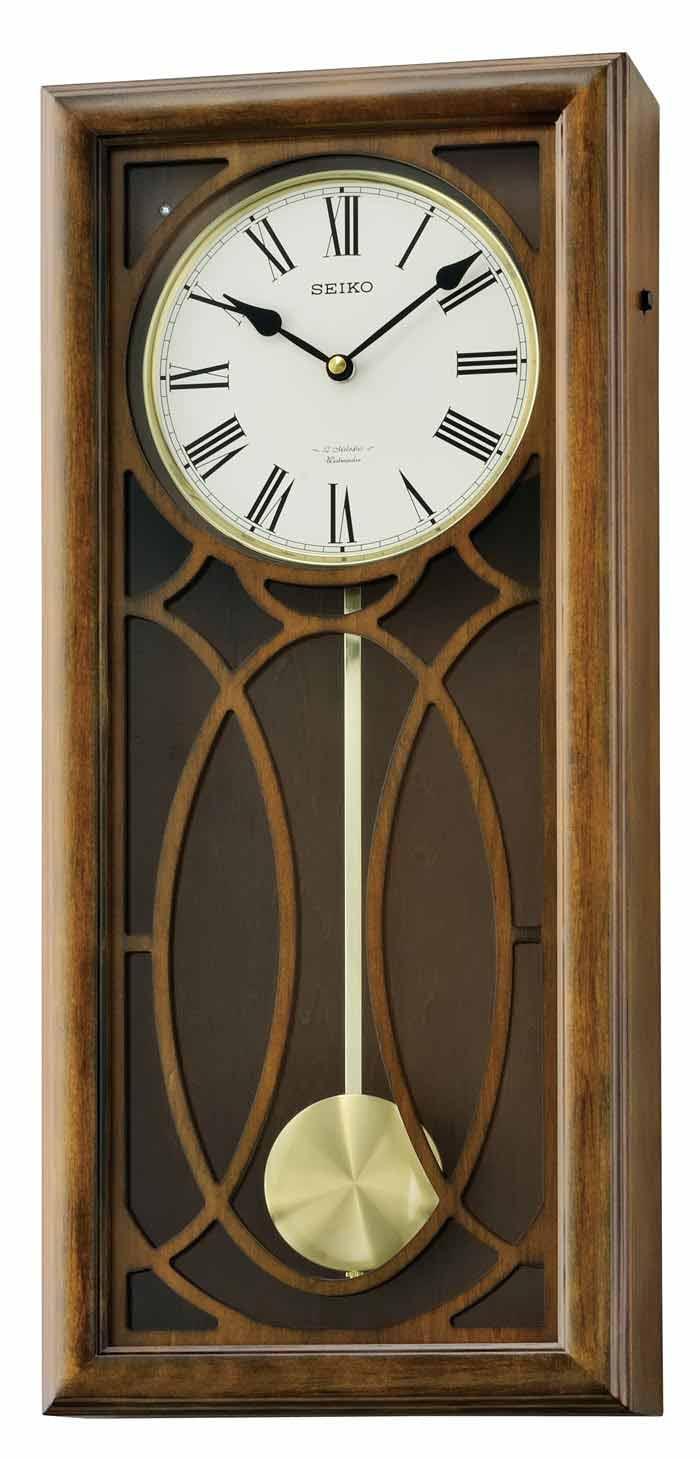 Seiko QXM343BLH Greyson Musical Wall Clock The Clock Depot