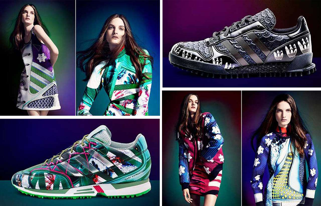 Looks - Katrantzou mary announces collaboration with adidas video