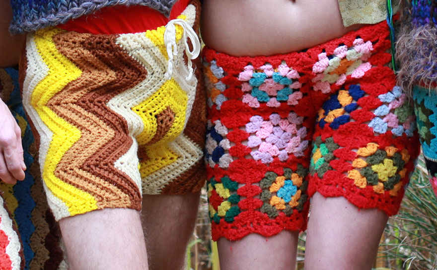 crochet shorts - the clothes maiden