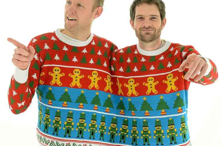 the twosie takes the christmas jumper to a whole new level the clothes maiden